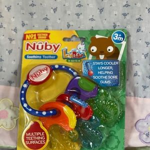 New Nuby Soothing Teether for Baby